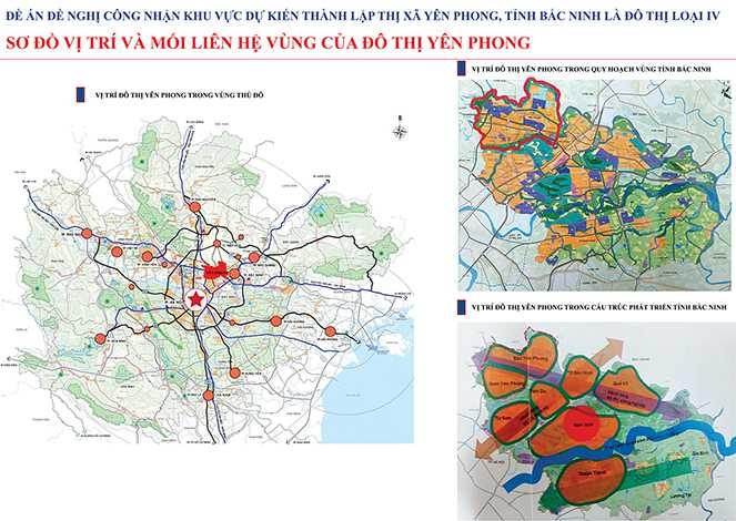 Phát triển đô thị Yên Phong giai đoạn 2017 – 2025, định hướng 2030: Tạo lập vị thế, thu hút đầu tư