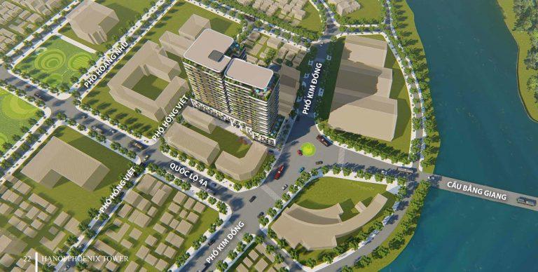 Dự án tòa nhà hỗn hợp thương mại, dịch vụ và căn hộ – Hà Nội Phoenix Tower
