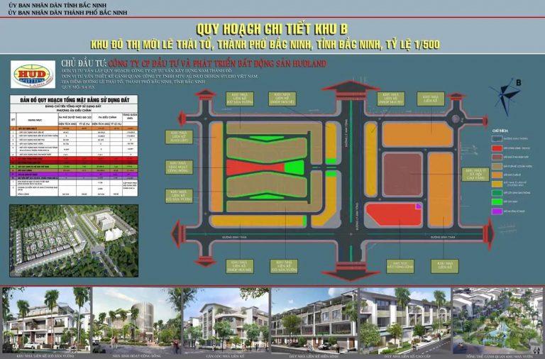 HUDLAND – Khu đô thị mới Lý Thái Tổ TP. Bắc Ninh