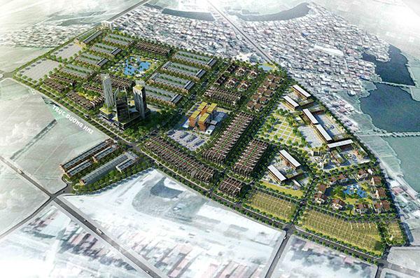 Khu đô thị Tân Hồng – Đông Ngàn, Từ Sơn, Bắc Ninh