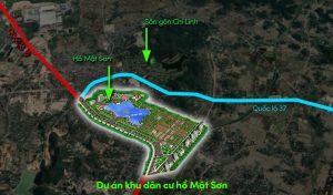 Đô thị mới khu dân cư hồ Mật Sơn