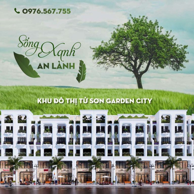 """Từ Sơn Garden City – Đại đô thị trên """"Vùng đất danh hương"""""""